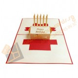 3D Cake (Red)