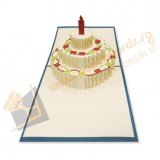 Giant Big Cake (Blue)